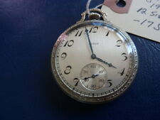 1912 Elgin Model 4 Pocket Watch-17 Jewel-Good Running Condition