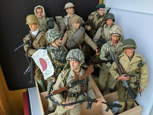1/6 Scale Dragon Action Figures  WWII Mint Condition Lot of 10