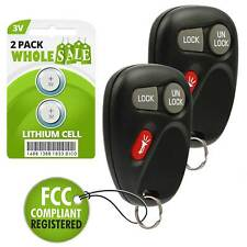 2 Replacement For 2002 Cadillac Escalade Key Fob Remote