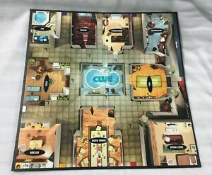 CLUE DISCOVER THE SECRETS REPLACEMENT GAME BOARD - FOLDS SQUARE