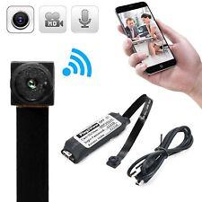 Wireless Hidden Spy Camera HD Mini Micro DVR Nanny WIFI Portable Live Cam