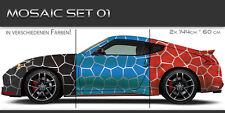 Mosaic Auto Folien Aufkleber Set 01 Tuning Muster Design JDM Style Mosaik