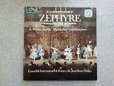 Jean Philippe Rameau Zephyre Record  LP