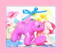 ❤️My Little Pony MLP Vtg G1 Style HQG1C Baby Lucky Star Sparkle Glitter Island❤️