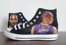 custom KOBE BRYANT/canvas shoes/handpaintedshoe/men/women