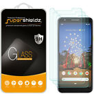 [3-Pack] Supershieldz Tempered Glass Screen Protector for Google Pixel 3a XL