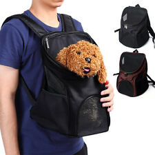 Pet Dog Backpack Carrier Puppy Pouch Cat mesh Front Bag Back Pack Totes Backpack