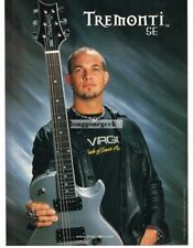 2003 PRS Tremonti SE Electric Guitar MARK TREMONTI of Creed Vtg Print Ad