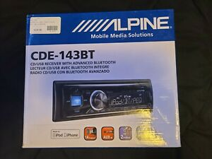 Alpine CDE-143BT Car Bluetooth CD Receiver