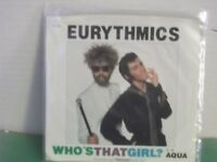 """Eurythmics,RCA, """"Who's That Girl?"""",US,7"""" 45 with P/S,STill Sealed in Baggy,MINT"""
