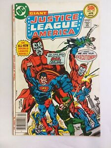 Justice League of America #141 DC Comics 1977 1st Appearance Manhunters VG 4.0