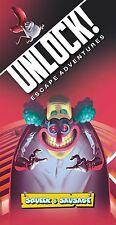 Unlock! Squeek & Sausage Escape Adventure Card Game Asmodee ASM NLK02 Room Party