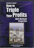 How To Triple Your Profits DVD Movie New / Sealed Carleton  H. Sheets