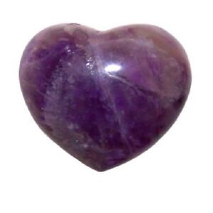 Natural Amethyst Heart Love Valentine