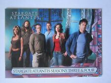Stargate Atlantis Season 3 & 4 Promo card P1 by Rittenhouse in 2008