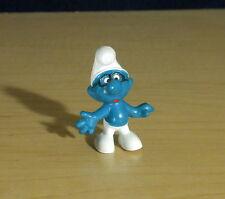 Smurfs Brainy Smurf Rare Black Glasses Vintage Figure Toy Lot PVC Figurine 20006