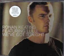 Ronan Keating feat Lulu-Weve got tonight  cd maxi  single incl video