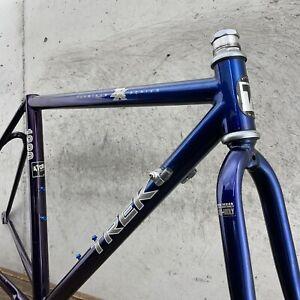 TREK Frame Set 47cm 51cm ZX 1220 Vintage Road Bike Easton ProGram USA