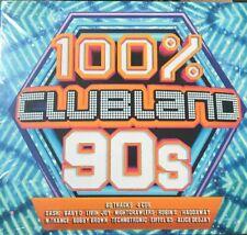 100% Clubland 90s, Various Artists, Good Box set