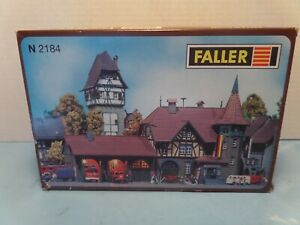FALLER N SCALE RESCUE STATION  #2184