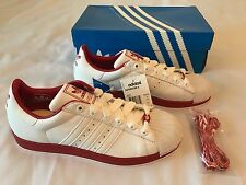 Adidas Superstar 2 Originals White Red Size 10 New in Box with Tags