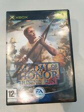 Xbox game, Medal of Honour, Rising Sun