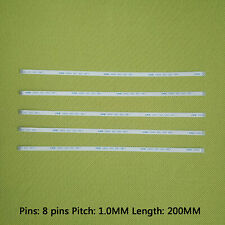 5 pcs 8Pin 200MM Cable Ribbon Flat Flexible ZIF 1mm pitch line connect FPC FFC