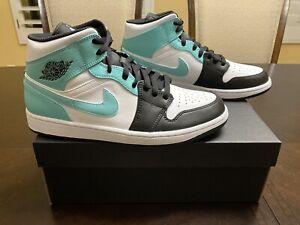 New Nike Air Jordan 1 Mid Tropical Sneaker Shoes Size US 10
