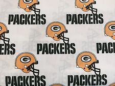 """GREEN BAY PACKERS NFL 60"""" Cotton Fabric BTY Fabric Traditions W"""