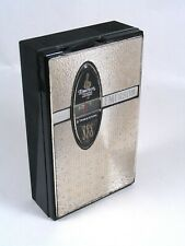 EMERSON TITAN Model 888, transistor radio. Black with chrome trim. Working