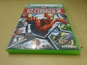 Marvel Ultimate Alliance 2 Xbox 360 Game 2009- With Manual
