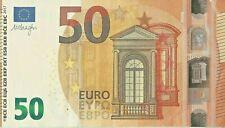 50 Euro Banknote Lightly Circulated Legal Tender Various Prefixes