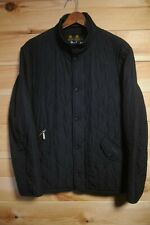 Barbour Chelsea Quilted Jacket Small Black Sportsquilt