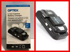 OPTEX Li7000 Li-ion Camera Battery Charger with LCD Screen and USB Port NIB