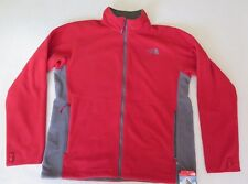 The North Face Men's Pumori Wind Fleece Red Jacket - MEDIUM - NWT