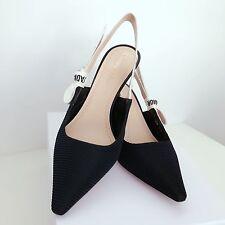 9cd3864e5d Brand New Christian Dior J'adior Jadior Black Slingback Shoes - Size 37.5