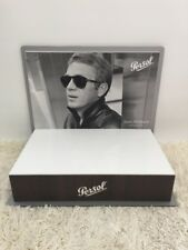 New Steve McQueen Persol Sunglasses Collectors Special Limited Edition Display