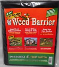 4u0027 X 8u0027 All Purpose WEED BARRIER Garden Yard Fabric NO WEEDING 32 Square