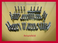 BMW F 800 S/R/GT/ST stainless steel screws bolt-kit motor engine cover BMW F800
