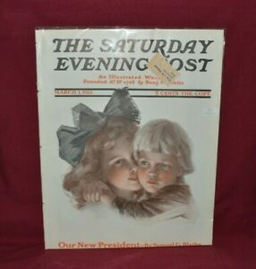 "MARCH 1ST, 1913 MAGAZINE ""THE SATURDAY EVENING POST"" EXCELLENT COND. WRAPPED"