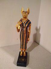 Artisans Guild International Egyptian god Bastet statuette vintage from 1989