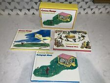 Curious George Photograph album Baby Kids memories 3 Books and Cover Never Used