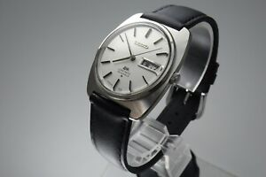 OH, Vintage 1970 JAPAN SEIKO LORD MATIC WEEKDATER 5606-7130 23Jewels Automatic.