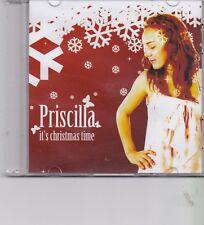 Priscilla-Its Christmas Time Promo cd single
