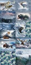 """Call of the Wild Digital Print Panel~ Breeze Panel ~ approx.   90 1/2"""" x 44"""""""
