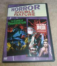 The Curse of Frankenstein/Taste the Blood of Dracula DVD Hammer Christopher Lee