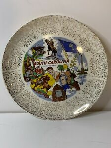 South Carolina State Dinner Collectible Souvenir Plate