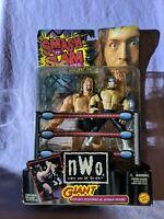 Smash 'n Slam Wrestlers Giant & Rey Mysterio Jr. NWO Action Figure Toy Biz 1999