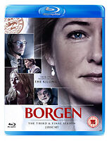 BORGEN - SERIES 3 - BLU-RAY - REGION B UK