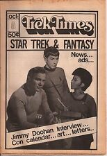 "Star Trek TOS Fanzine ""The Monthly Trek Times 3,4, 5, 8"" Fantasy Vintage"